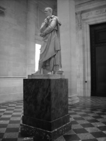 statue Montesquieu CA de Bordeaux